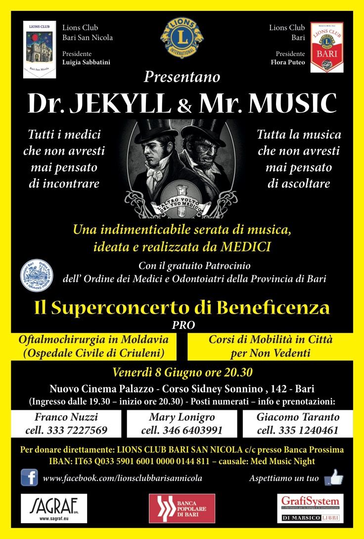 Dr. Jekyll & Mr. Music LOCANDINA