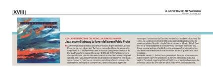 """""""La Gazzetta del Mezzogiorno"""" - Bari, 28/10/2020"""